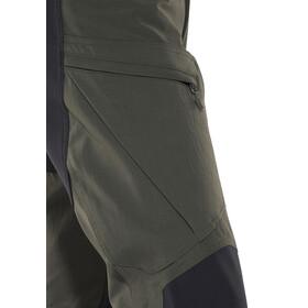 Haglöfs Rugged II Mountain - Pantalones de Trekking Hombre - negro/Oliva